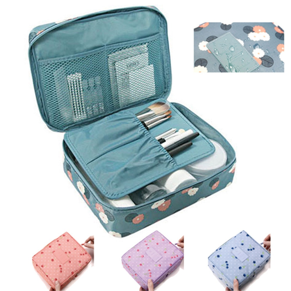 Cosmetic Bag Organizer Waterproof Portable Makeup Bag 2021 Brand Hot Sale Fashion Travel Women Necessity Beauty Case Wash Pouch