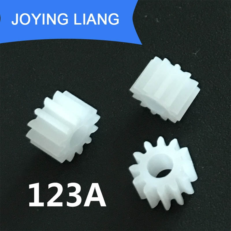 123A معامل 0.5 12 الأسنان 3 مللي متر رمح ضيق بوم البلاستيك ترس والعتاد لعبة نموذج والعتاد (5000 قطعة/الوحدة)
