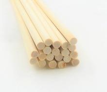 10 pcs 나무 스틱 diy 나무 공예 기어 스틱 pegs 스틱 달콤한 극 나무 나무 도구 0.4 cm * 30 cm 스틱