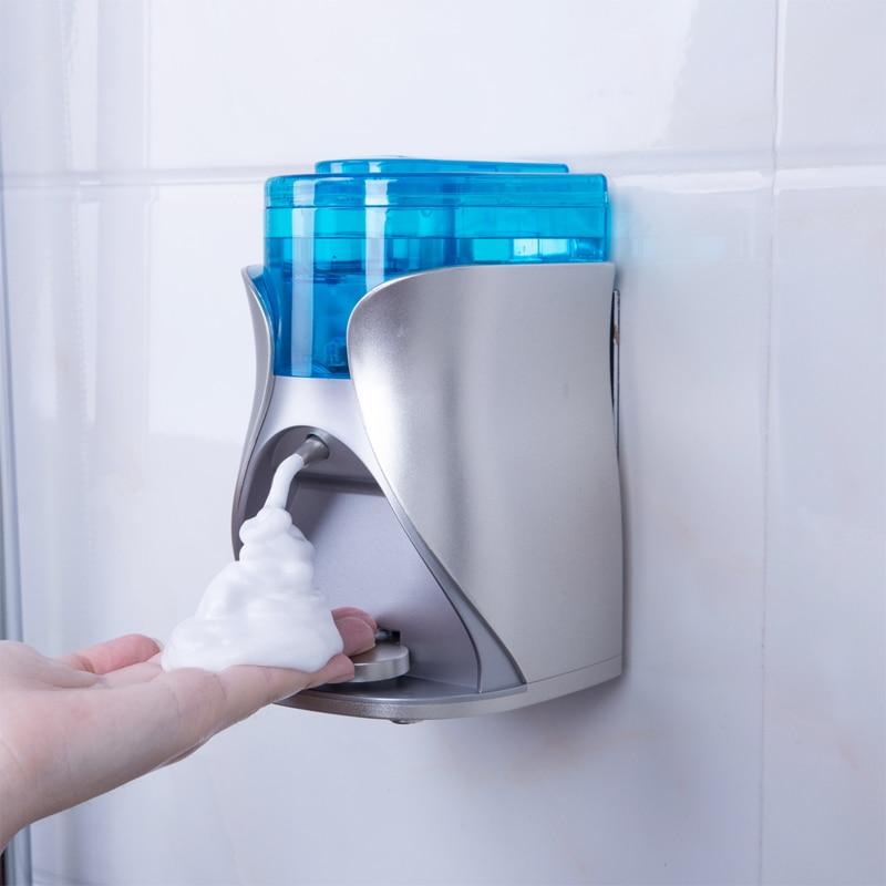 Dispensador de jabón dispensador automático de espuma para uso doméstico botella especial no perforada Limpieza de harina de leche