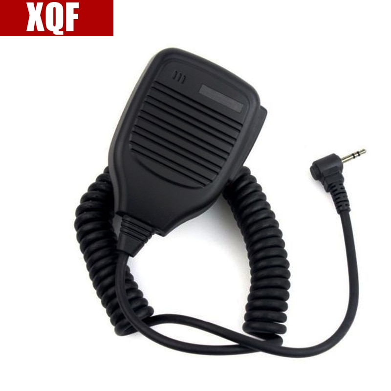 XQF 10 Uds 1Pin 2,5mm micrófono altavoz para Motorola hablar de Radio T6200 FR50 FR60 Cobra Radio