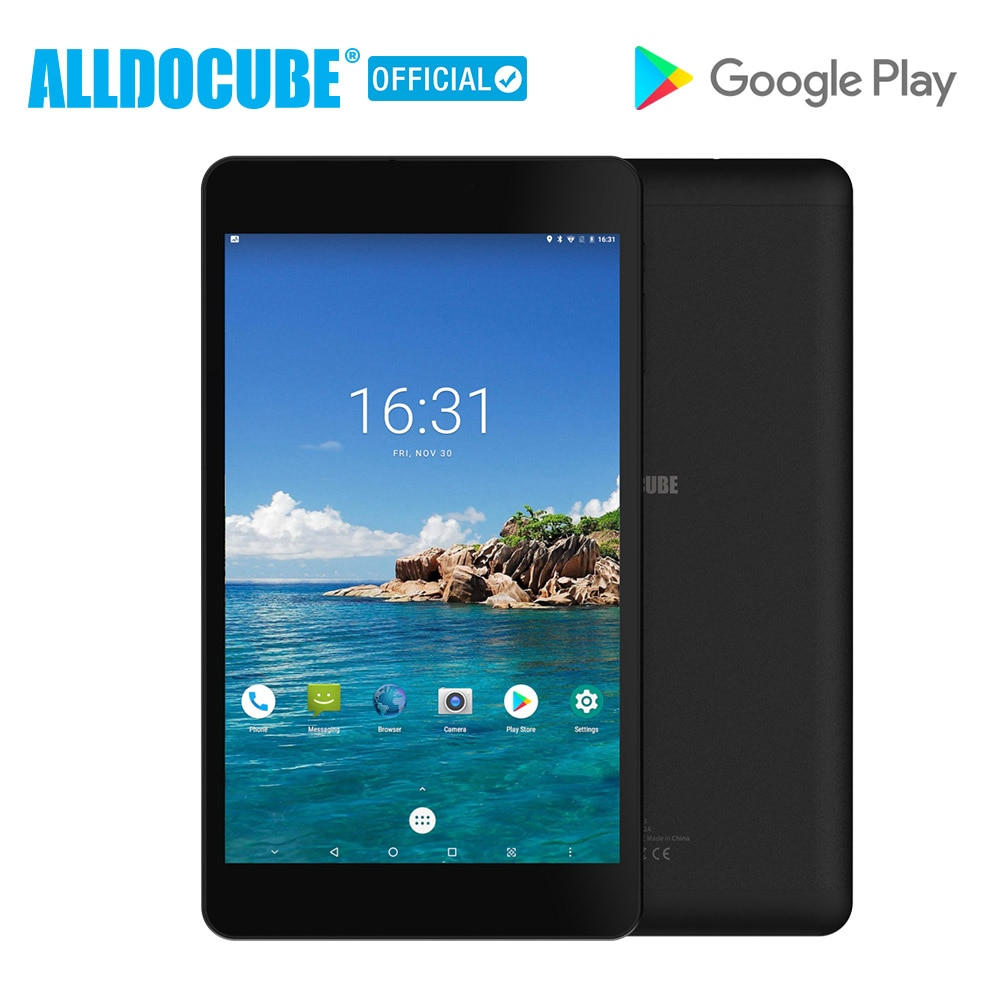 ALLDOCUBE M8  Android 8.0 Tablet Deca Core 8 inch 1200*1920 Tablet PC MTK X27 MT6797   3GB RAM 32GB ROM Dual 4G Phone Dual Wifi