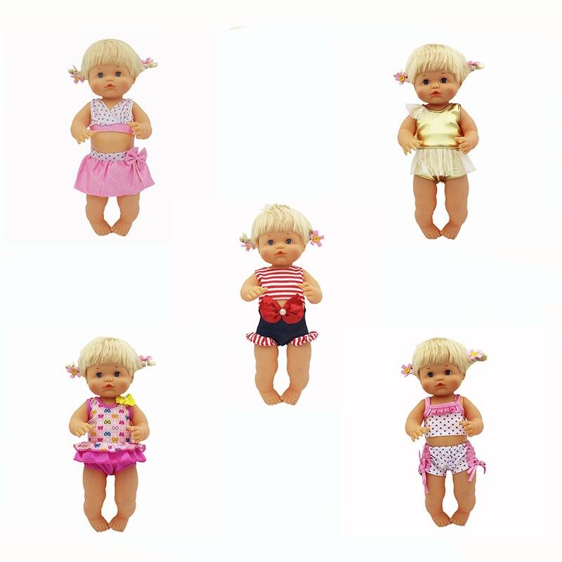 6 estilos quentes roupas de boneca caber 35-42cm nenuco boneca nenuco su hermanita boneca acessórios