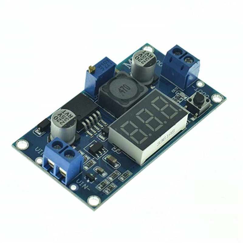 LM2596 Módulo de reducción de DC-DC regulador de tensión regulable DC voltaje LED 4,0 ~ 40V a 1,25-37V adaptador Buck fuente de alimentación