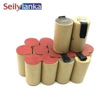 3000mAh pour Alpha tools 18V Ni MH batterie bloc dalimentation CD accu-pack AS18A AS 18 A pour auto-installation