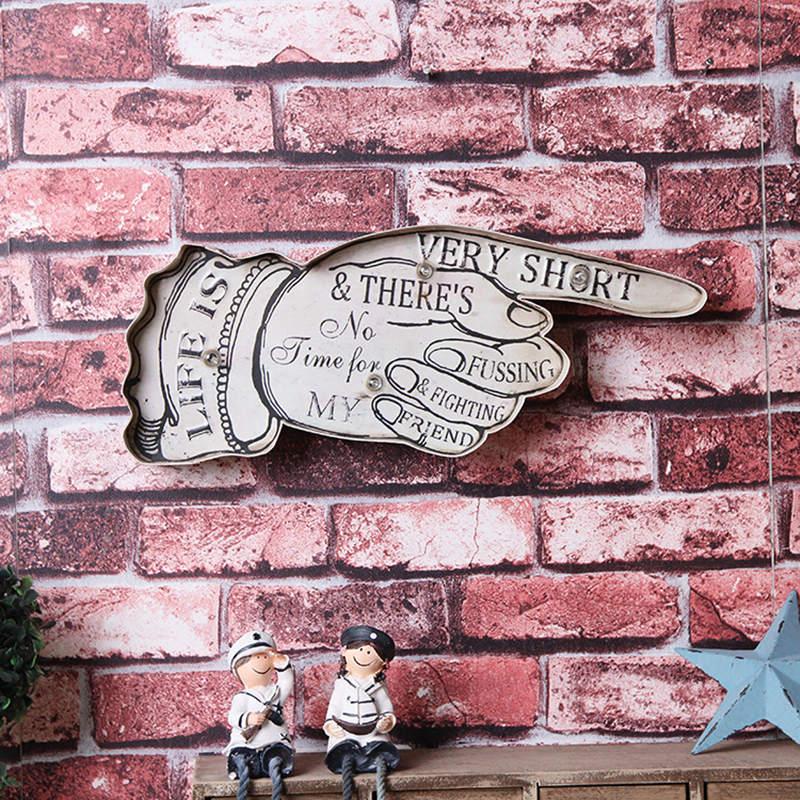 Lebensdauer LED Licht Zeichen Vintage Wohnkultur Wand Hängen Ornament Haus Bar Dekoration Placas Metall Plaque