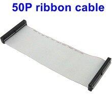 10 PIÈCES 50PIN 2*25P Câble Plat PANNEAU À LED connecter moyeu TRANSMISSION du Signal 10cm 20cm 30cm 50cm données 50P FC-50P CÂBLE RUBAN