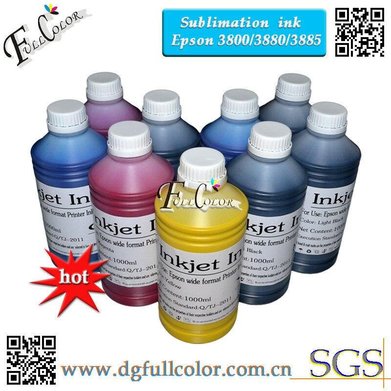 ¡Envío Gratis! 500 ml 9 color de tinta de sublimación para Epson pro3800 3850 3800 3880C 3885 impresora de gran formato