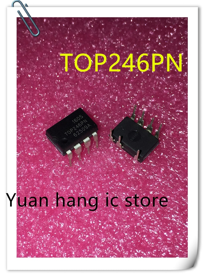 10PCS/LOT TOP246PN TOP246P TOP246 DIP-7 Power management chip