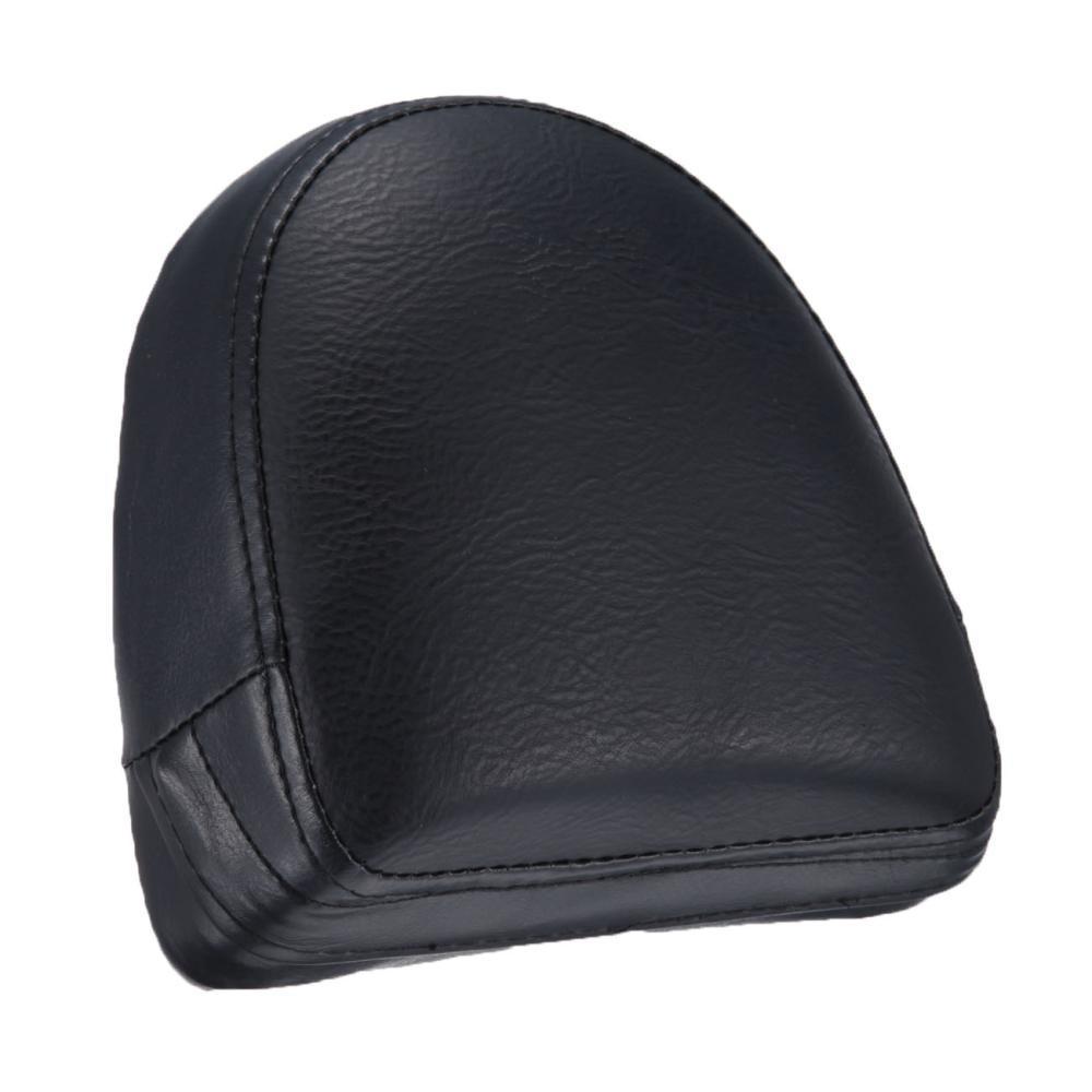 Motocycle Synthetic Leather Backrest Sissy Bar Cushion Pad Fit For Harley  VRSC V-Rod VRod 2002 2003 2004 2005 2006