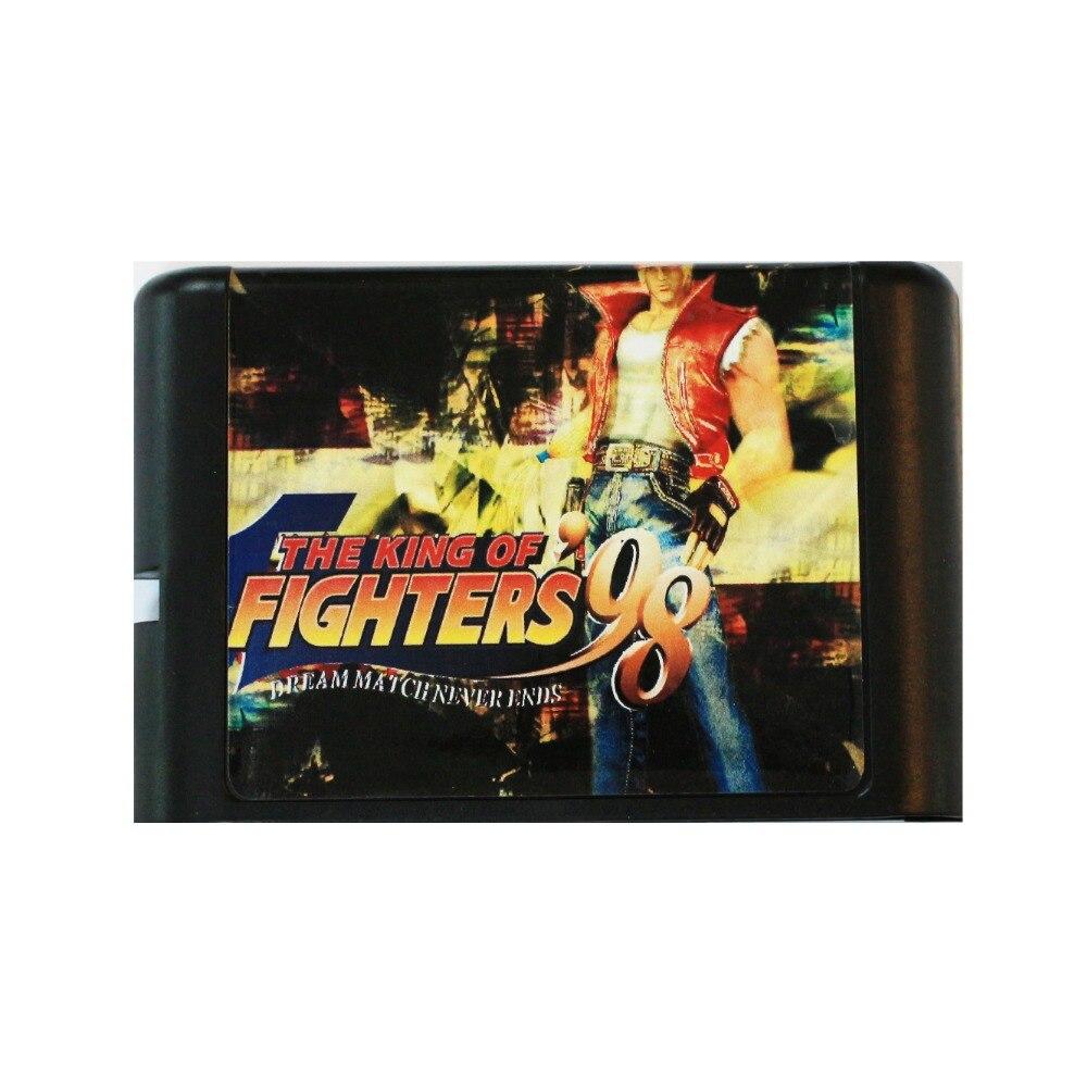 Hot Sale - The King Of Fighters 98 16 bit MD Game Card For Sega Mega Drive For SEGA Genesis