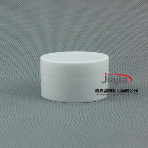 15 грамм белая полипропиленовая баночка для косметики, 15 мл контейнер для образцов, косметическая упаковка, 15 г мини-банки для крема или банк...