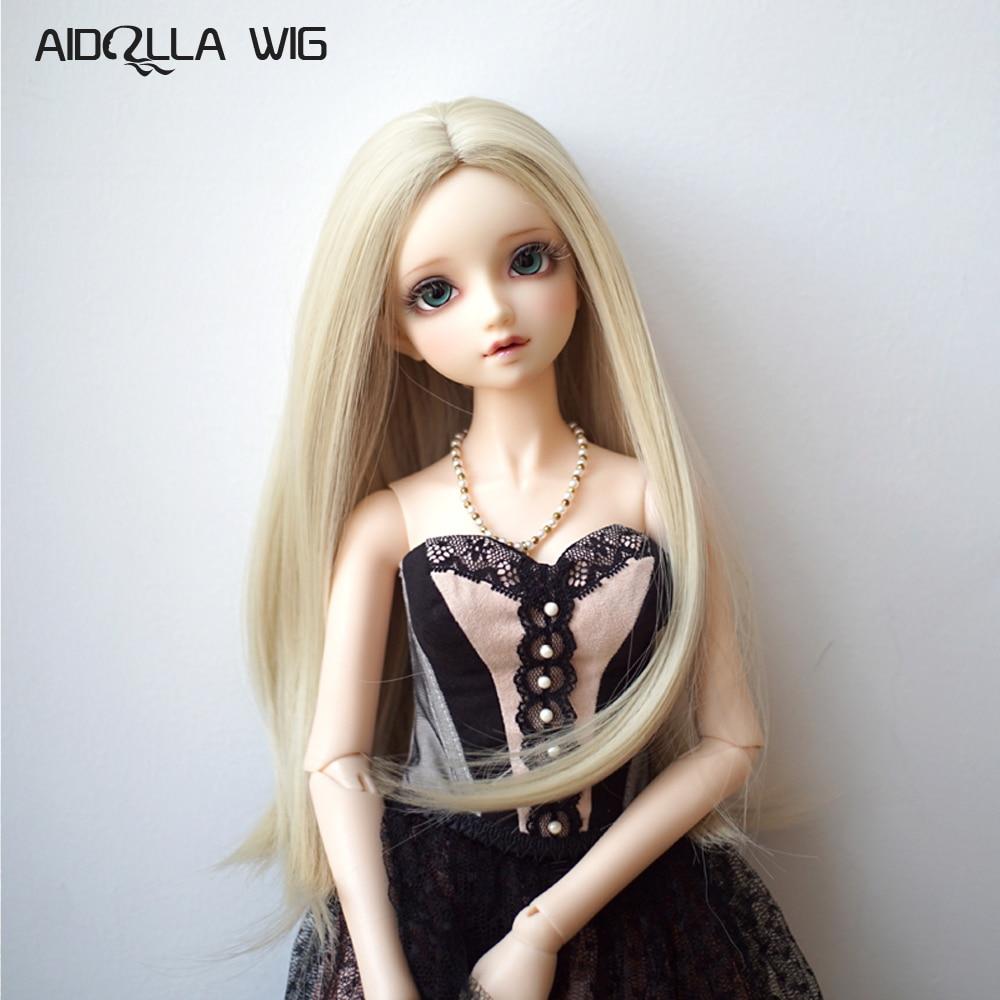 Peluca de muñecas Bjd Sd de fibra de alta temperatura, Fairyland, Minifee chloe sarang, juguetes de alta calidad, peluca de muñeca, accesorios para el cabello, modelo variado