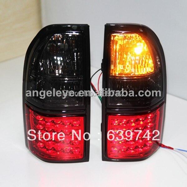 LC90 FJ90 Prado 3400 LED Tail Light for TOYOTA 1998-2003 year Red Black Color