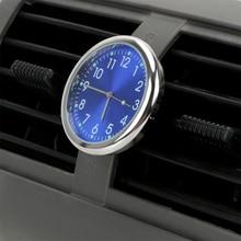Car Clock Air Outlet Decoration Luminous Quartz Clocks Ornaments Analog Watch Car Electronics