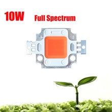 2 X 10W 45mil High Power Full Spectrum 380~840nm SMD LED Grow Chip BridgeLux Light Lamp For Plant Grow