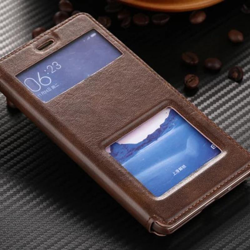 Ультратонкий кожаный чехол с окошком для Xiaomi Redmi 3 3 S Pro 3 S Prime, Роскошный чехол для телефона, высокое качество