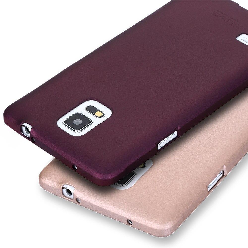 X-level caso tpu macio para samsung nota 4 toque fosco ultra fino à prova de choque de volta capa de telefone coque para samsung galaxy note4 caso