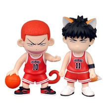 SLAM DUNK Hanamichi Sakuragi Rukawa Kaede figurine animé PVC nouvelle Collection figurines jouets Collection pour ami cadeau