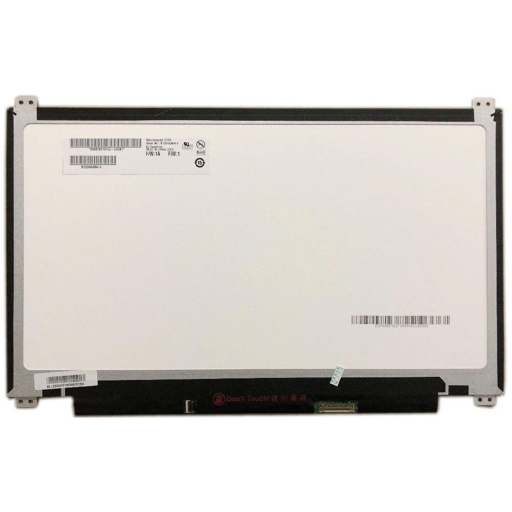 B133HAN04.4 fit B133HAN04.7 B133HAN04.0 B133HAN04.2 LP133WF2 LCD Screen 1920*1080 EDP 30 pin IPS