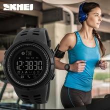 Nouveau Bluetooth montre intelligente SKMEI marque pour Apple IOS Android numérique Smartwatch 50 M étanche mode podomètre Sport montres