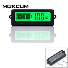 12V Lood-zuur Batterij LY6N Verzonken Batterij Capaciteit Indicator Tester Voltmeter Groen Licht Batterij-indicator