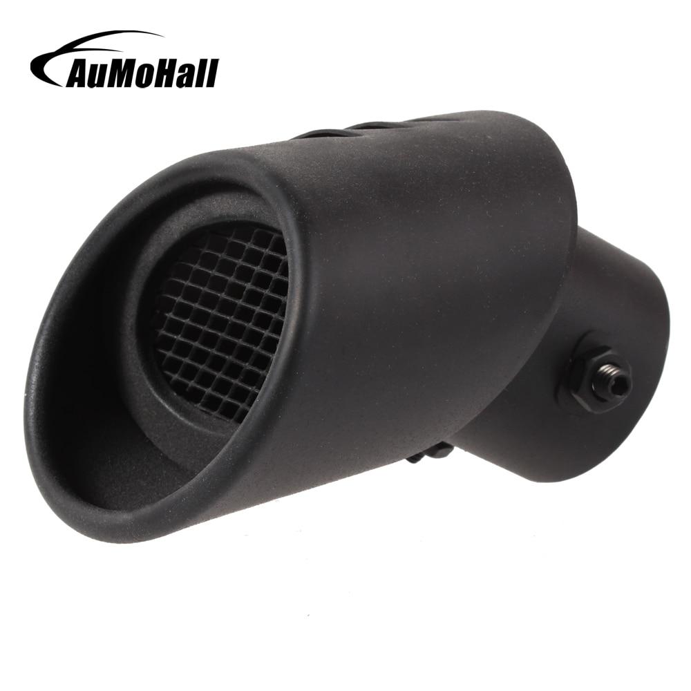 Глушитель для автомобиля выхлопная труба из нержавеющей стали черные выхлопные