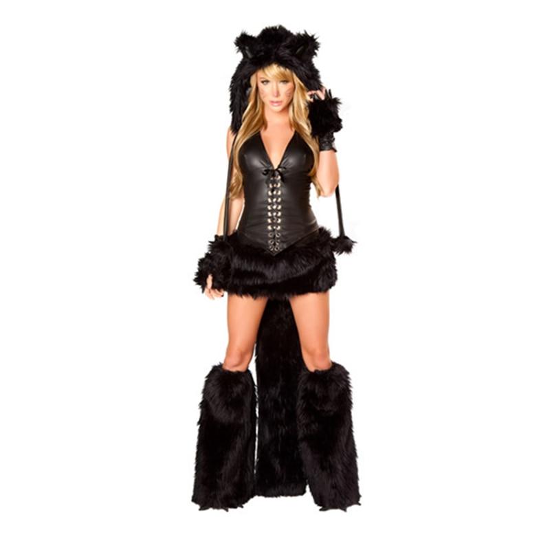 Hot sale Sexy Animal Costume, Cosplay Fox, Woman Halloween Costume