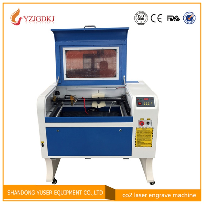 4060 Laser Engraving 600*400mm 100W Co2 Laser Cutting Machine Specifical for Plywood/Acrylic/Leather Free Shipping coreldraw недорого