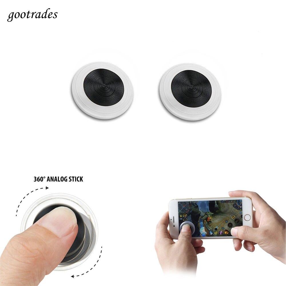 Controle ultrafino de mini jogos para celular, joystick v3 para smartphone, tablet e ipad, 1 peça