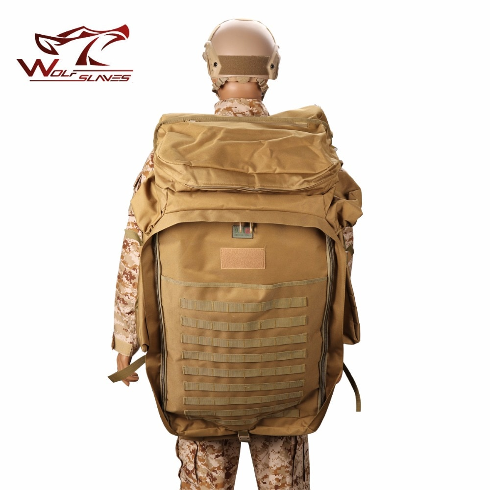 New Arrivals Military Tactical Backpack 100L Plus large Capacity Outdoor Sport Bag Waterproof 1000D Nylon Camping men's Bag