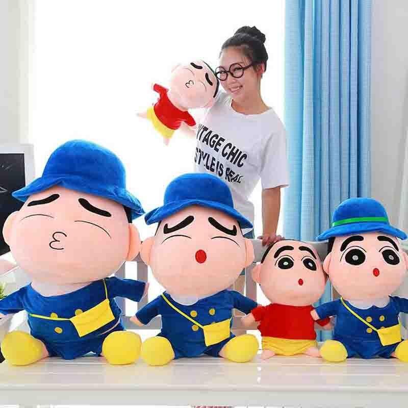 -Crayon Shin chan JJ boneca de Pelúcia Boneca de brinquedo de Pelúcia Presente de Aniversário Do Bebê