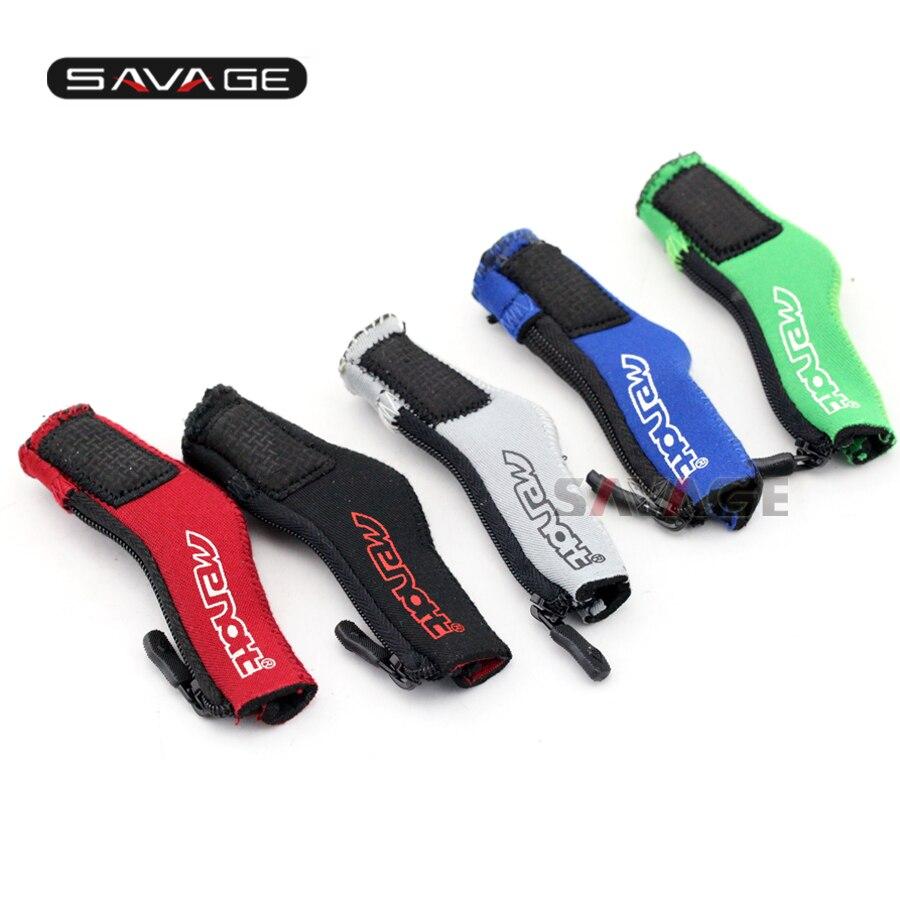 Para HONDA VFR 800X/800F/800FI CB750 CB1100 VFR1200F ST1300 Motocicleta Pedal Gear Shift Calcetín Paño Cubierta de Arranque calzado Protector