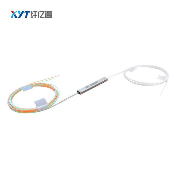 50pcs/lot 2x4 blockless fiber optic plc splitter  no connector