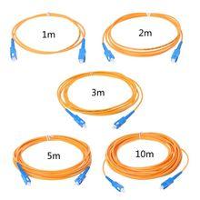SC/UPC-SC/UPC-SM 3mm Cavalier À Fiber Optique Câble Monomode Extension Cordon De Raccordement Câble de Raccordement Fils Électriques