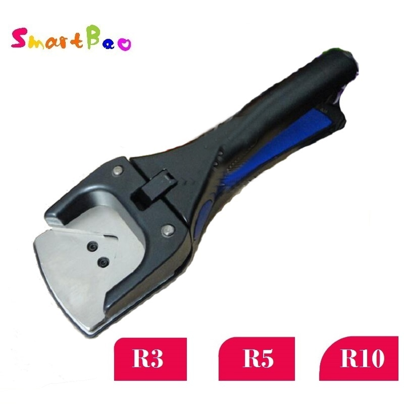 Perforadora de agujero de esquina R3/R5/R10, perforadora de hoyo y ranura para esquinas, cortador de golpe más redondo para tarjeta de PVC, etiqueta, foto; cortadora resistente