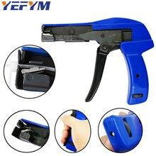 YEFYM HS-600A befestigung und schneiden tools special für kabel tie gun für nylon kabelbinder breite 2,4-4,8mm hand werkzeuge