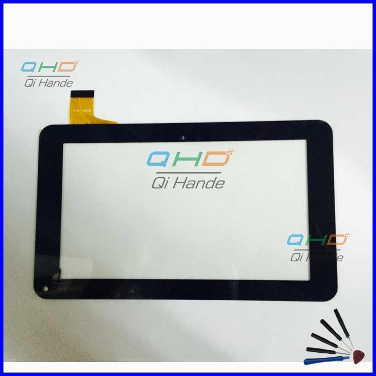 10 unids/lote Digitalizador de pantalla táctil de TPT-070-179F de 7 pulgadas para RCA RCT6378W2 PC Tablet Panel de pantalla táctil envío gratis