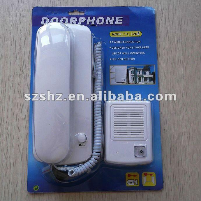 جرس باب صوتي سلكي 220 فولت ، نظام اتصال داخلي صوتي عالي الجودة مع وظيفة فتح ، شحن مجاني