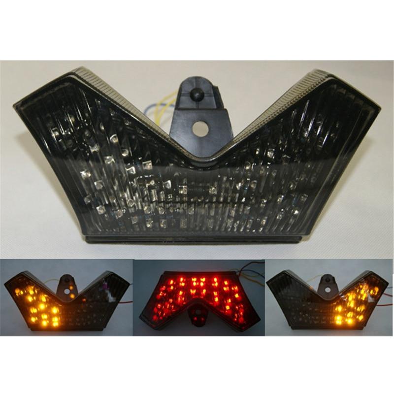 Waase pour Kawasaki ZX14 ZX14R ZZR1400 2006 2007 2008 2009 2010 2011 2012-2015 queue de feu stop   Signaux clignotants intégrés