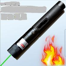 AAA Super Krachtige 50 W 500000 m 532nm Groene Laser Pointer Zaklamp Brandende Lucifer, Pop Ballon, burn Sigaretten Jacht, SD 303