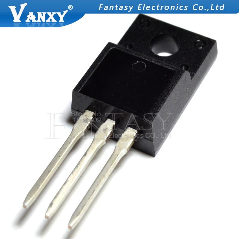 10 шт. TK6A65D TO-220F K6A65D TO-220 TK6A65 TO220F MOSFET N-Ch FET 650V 4,0 s IDSS 10 мкА. 95 Ом