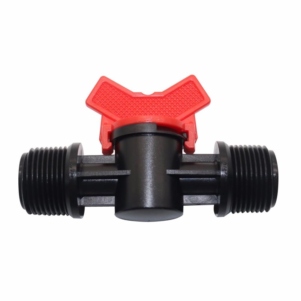5 шт. пластмассовая муфта для полива труб переключатель шланга клапан 3 модели переключатели садовые поливочные принадлежности внешняя рез...