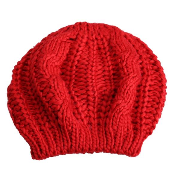 Mode Winter Frauen Beret Warm Strick Baggy Beanie Hut Ziemlich Komfortable Klar Kappen Multicolor Elastizität Ski Cap