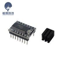 1 шт. stepstick DRV8825 A4988 LV8729 Драйвер шагового двигателя переноска reprap 4-слойная печатная плата ramps Замена a4988 для 3d принтера