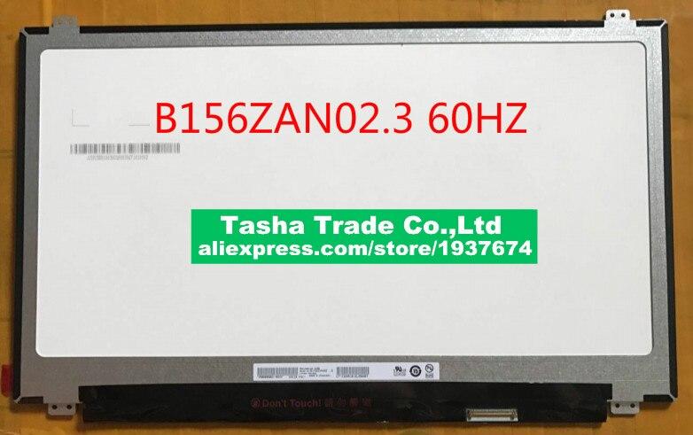 "4K artículo B156ZAN02.3 3840x2160 UHD EDP 40 pin IPS 15,6 ""LED panel de pantalla LCD B156ZAN02 AUO23EB 60HZ"