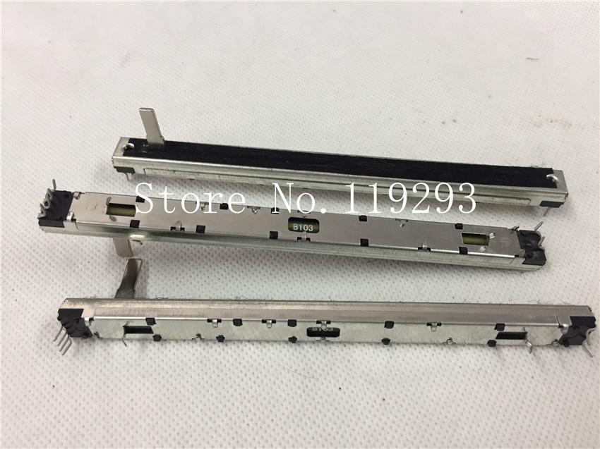 [BELLA]Soundcraft FX16II мастер фейдера консоли с тонкой оправой дуплекс потенциометра 128 мм 12,8 см B10K двойной B10KX2 15MMC SC1008G.--10PCS