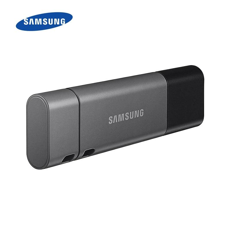 SAMSUNG USB 3.1 Flash Drive DUO Plus High Speed 128GB 64GB 32GB USB Flash Drives Memory Pen Drives for Smart Phone/Tablet/PC