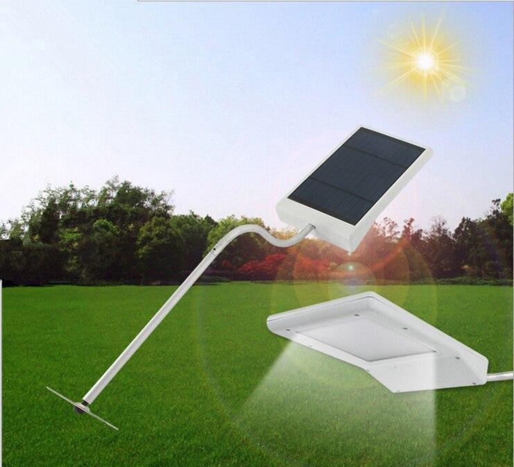 new super bright led sensor de luz solar a prova d agua 15 leds de luz solar rua