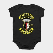 Baby Onesie Baby Bodysuits kid t shirt Fashion Satudarah MC Malku MensShirt Classics Funny Tee Shirt